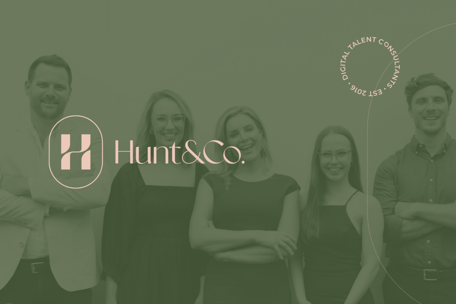 Digital Talent Co. has rebranded to Hunt & Co. Consulting
